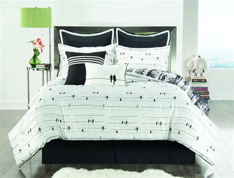 black and white tree bedding funky reversible comforter sets funk this house