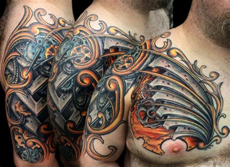 viking armor tattoo 55 great armor tattoos for chest