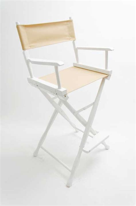 Canvas Directors Chair by Gold Medal Directors Chair Classic White 30 Quot Khaki Canvas