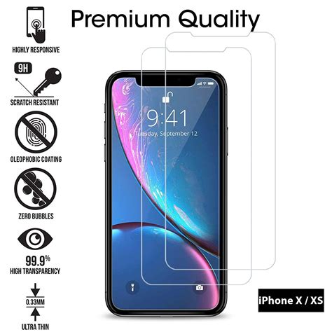 tempered glass film screen protector   iphone xr xs