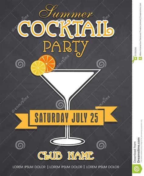 design carte d invitation design de carte d invitation pour le cocktail d 233 t 233