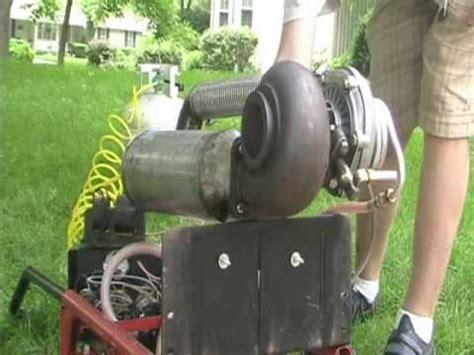Handmade Engine - diy turbo jet engine startup and test middle