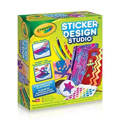 sticker layout maker crayola sticker design studio sticker maker gift for