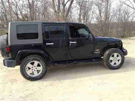 wrecked jeep purchase used 2010 jeep wrangler 4 door 4x4 salvage