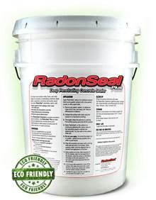 radonseal plus penetrating concrete sealer 5 gal