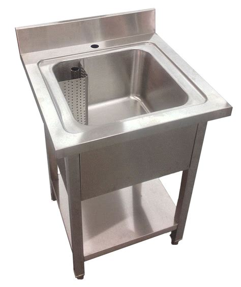 commercial stainless steel sink 600mm commercial stainless steel single bowl sink