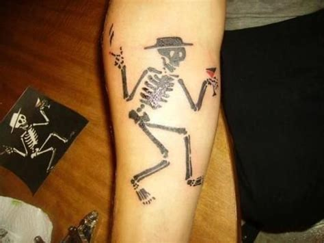 social distortion tattoo social distortion skeleton tattoos bud large