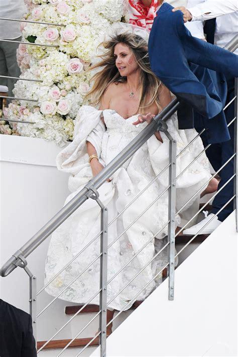 heidi klums wedding dress     gorgeous