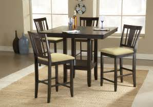 Counter Height Dining Table And Chairs Counter Height Dinette Sets Homesfeed
