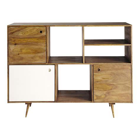 credenze maison du monde credenza vintage in legno di sheesham l 145 cm andersen