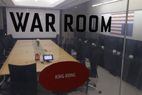 popular conference room names the view from netflix s war room at the launch of house of cards the globe and mail