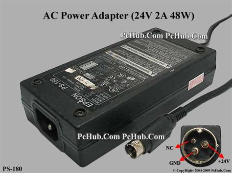 Adaptor Epson Ps 180 Epson Ps 180 Ac Adapter 20v Above Ps 180 M159a