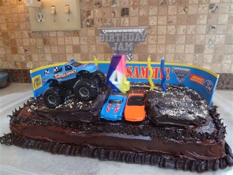 little monster truck videos monster truck cakes decoration ideas little birthday cakes