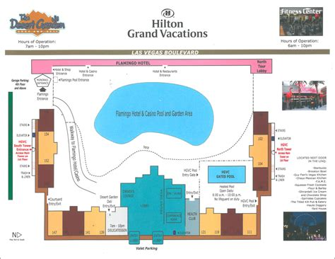 map of flamingo las vegas property grand vacations club at the flamingo timeshare