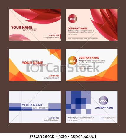 business name card template clipart clip vector of business name card template for