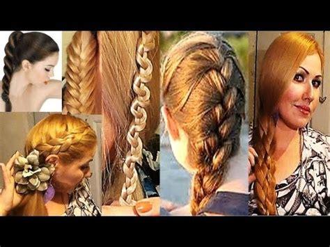 imagenes de varias trenzas peinados quot tipos de trenzs para el cabello quot 7 peinados