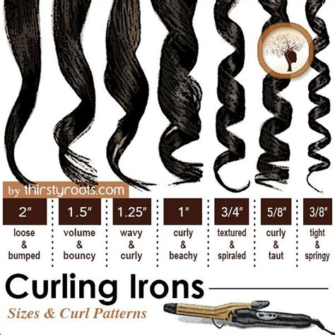 25 best ideas about curling iron size on pinterest