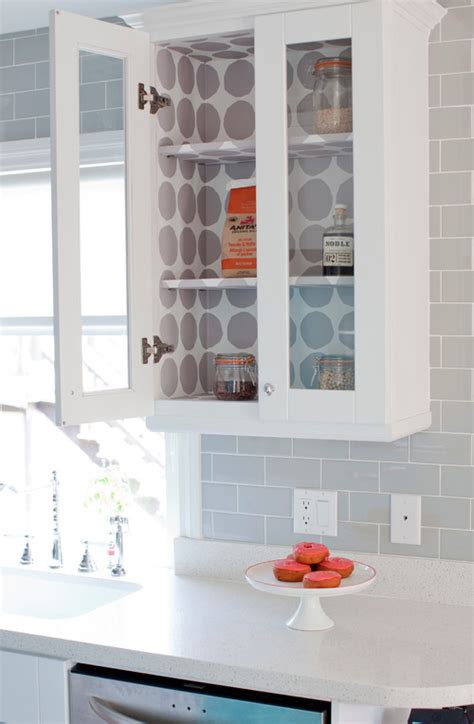 shelf paper for kitchen cabinets 20 inexpensive ways to fix up your kitchen the art in life