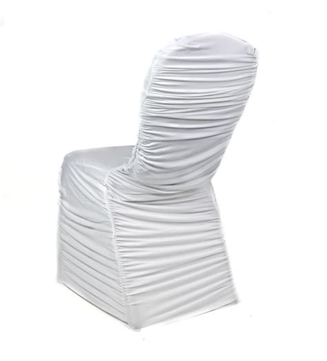 Ruched Chair Covers by Premium Ruched Chair Cover Spandex Lycra