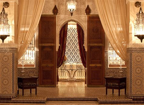 moorish style palace interior architecture royal mansour a royal stay in the heart of marrakech