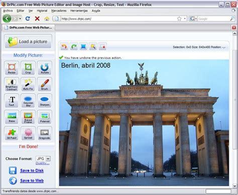 editor de imagenes jpg gratis dr pic editor de imagen online gratis chicageek