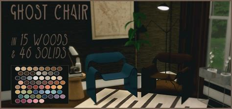 The Chaos That Is My Workshop Ghost Furniture by Simsworkshop Ghost Chair By Sympxls Sims 4 Downloads