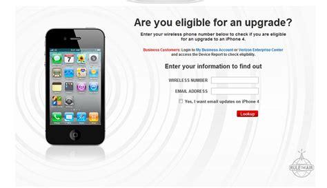 upgrade my verizon phone verizon upgrade discount ending before iphone 4 release