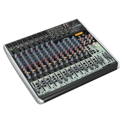 behringer qx2222usb 12 channel mixer