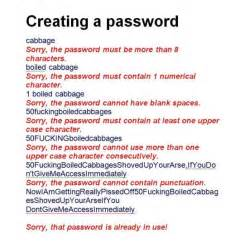 Password Meme - creating a password imghumour