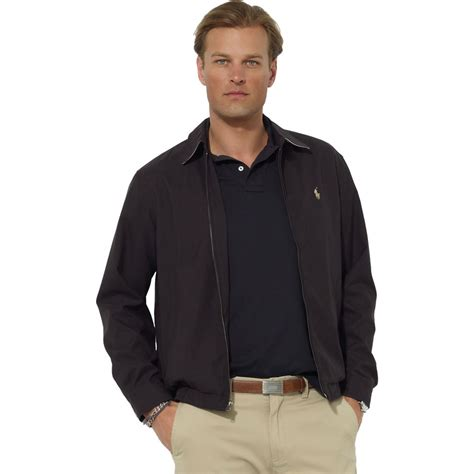 ralph lauren bi swing polo ralph lauren bi swing microfiber windbreaker jacket