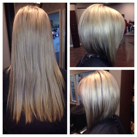 bob haircuts before and after before and after haircut gorgeous inverted bob our