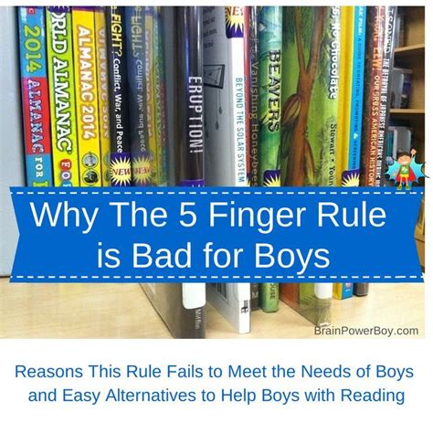 7 Reasons Why Bad Boys by The Five Finger Rule And Why It Is Bad For Boys Finger