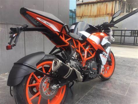 Ktm Rc 390 0 60 2017 Ktm Rc 390 Test Drive Review Sport Bike Of