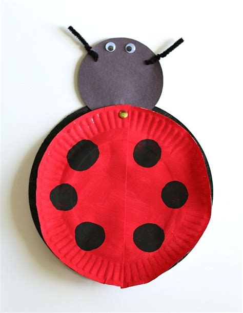 Ladybug Paper Craft - the grouchy ladybug craft for with free printable
