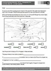 free rivers worksheets for teaching the geography topic of