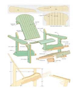 wood work adirondack chair plans canada pdf plans