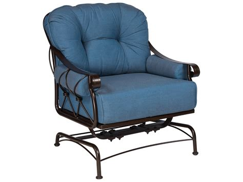 Wrought Iron Lounge Chair Patio Woodard Derby Wrought Iron Lounge Chair With