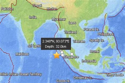 earthquake in aceh 8 7 quake off aceh triggers tsunami alert abc news