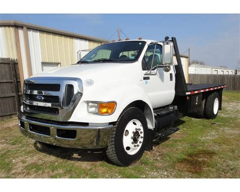650 Ford Truck by 2011 Ford F 650 Flatbed Truck For Sale Southlake Tx
