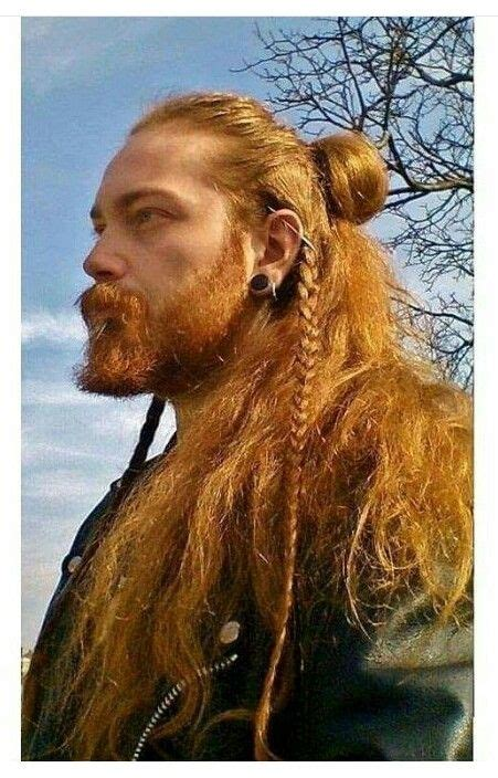 viking hairstyles for men viking hair style long short omg pinterest
