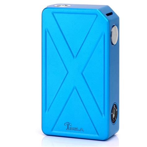 Tesla Invader Iii Authentic authentic tesla invader iii blue zinc alloy 240w vv box mod