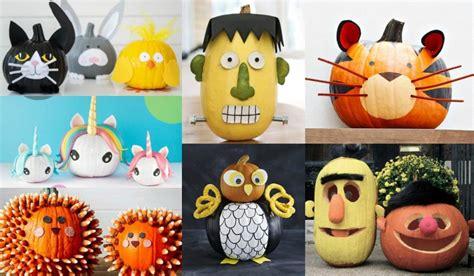 decorar para halloween infantil 30 ideas para decorar calabazas halloween con ni 241 os