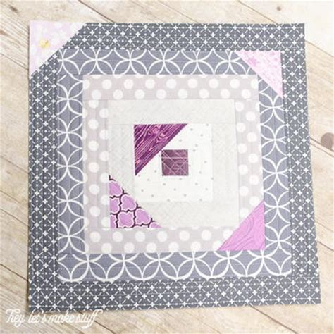 Quilt As You Go Log Cabin Pattern by Scattered Geese Qayg Tutorial Favequilts