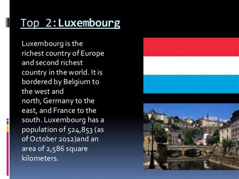 top 10 richest countries in tha world wahla