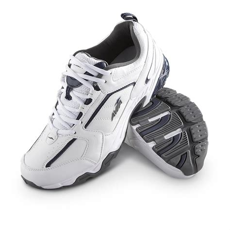 navy athletic shoes s avia 174 106 athletic shoes white navy 195427