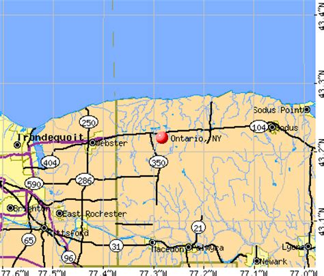 Ontario County Ny Property Records Ontario New York Ny 14519 Profile Population Maps Real Estate Averages Homes