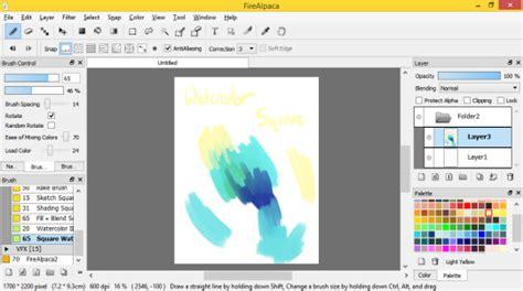 paint tool sai or firealpaca firealpaca is now completely a paint tool sai alternative
