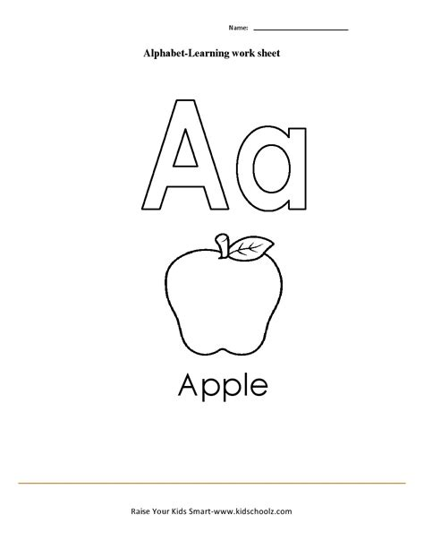 Learning The Alphabet Worksheets by Learning The Alphabet Worksheets Driverlayer Search Engine