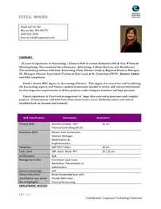 sap fico end user resume sle sap fico resume years experience sap fico resume years