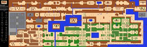 Legend Of Zelda Map Quest 1 | the legend of zelda overworld quest 1 map